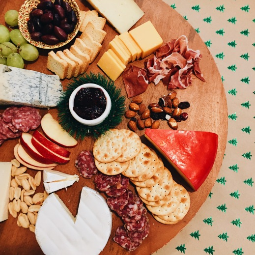 A Dairy Christmas Cheese Board
