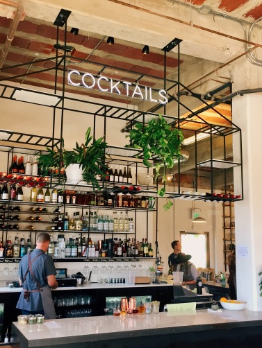 Cocktails and shopping go hand in hand at Liberty Public Market