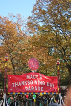 The Kick-off of the Macy's Thanksgiving Day Parade