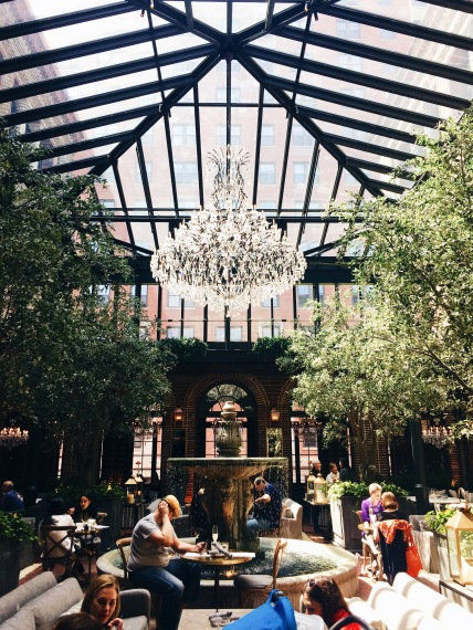 The glitz and glamor of Restoration Hardware