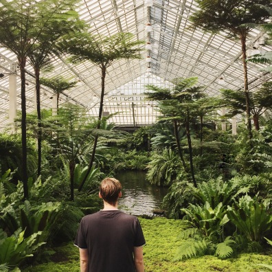 One with nature at Garfield Park Conservatory