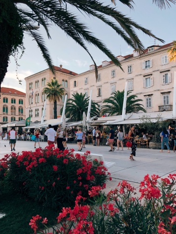 An early evening in Split